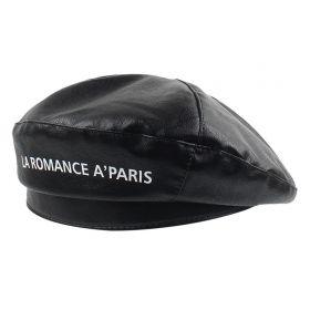 Dámský baret Romance Paříž Černý
