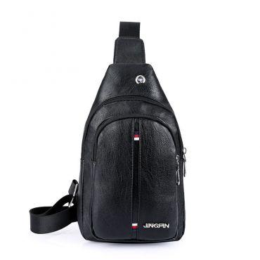 Pánská taška přes hruď a crossbody JINGPIN Černá
