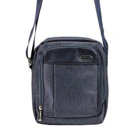 Coveri World taška přes rameno Giusep Modrá