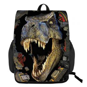 Stahovací batoh 3D Dinosaurus Velociraptor