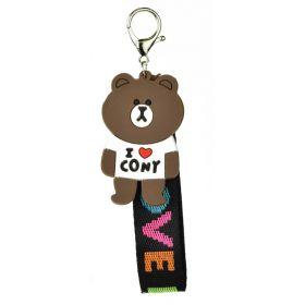 Přívěšek na batoh Medvídek I LOVE Cony