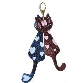 Přívěšek na batoh Holografické kočičky