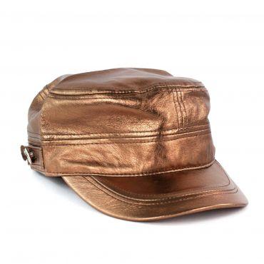 ArtOfPolo metalická kšiltovka Bronzová