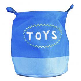 Lněný koš na hračky i prádlo Monsters Toys