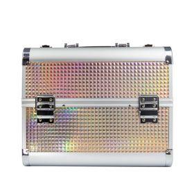 MollyLac kosmetický kufřík L Holo Gold