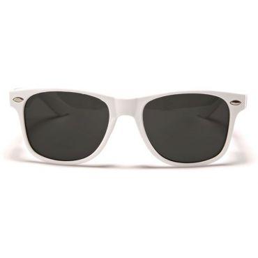 Sluneční brýle wayfarer retro bíle