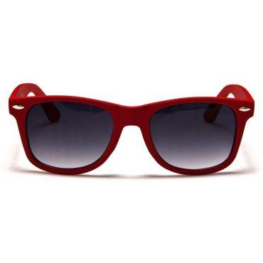 Sluneční brýle wayfarer retro červené