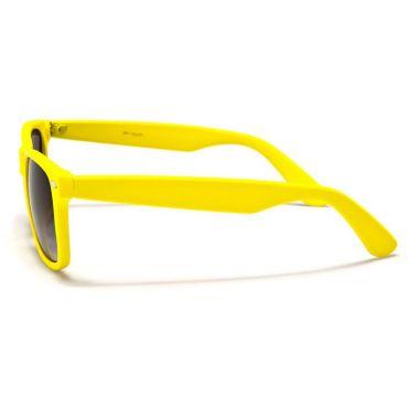 Sluneční brýle wayfarer retro žlté