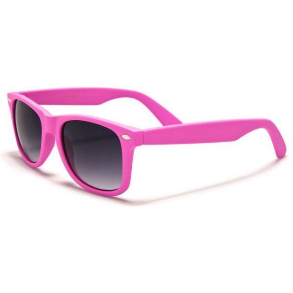 Sluneční brýle wayfarer retro růžové