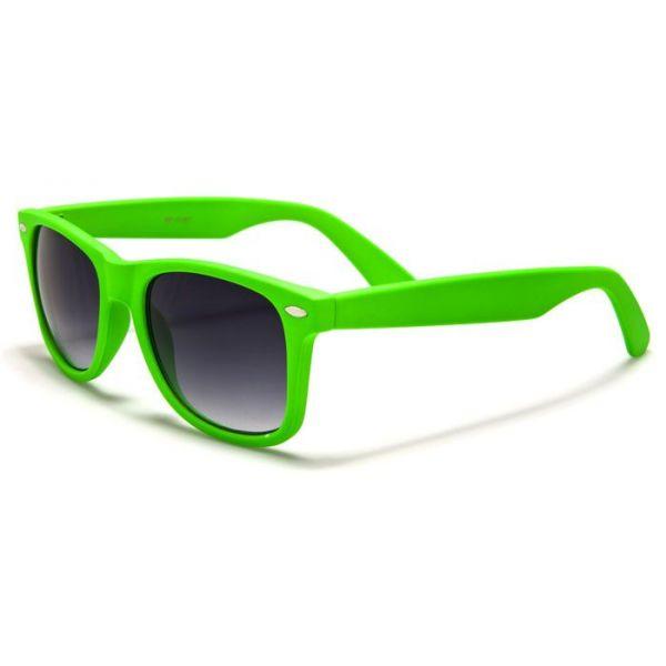 Sluneční brýle wayfarer retro zelené